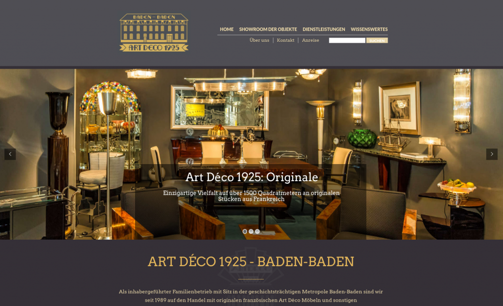 Art Deco 1925 - Perspectives Software Solutions